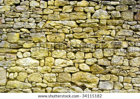 old wall in stones