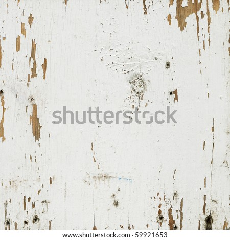 Old wall, shabby paint as background - stock photo