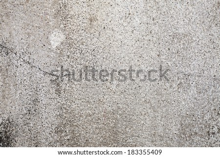 Old wall with plaster crashed  texture - stock photo