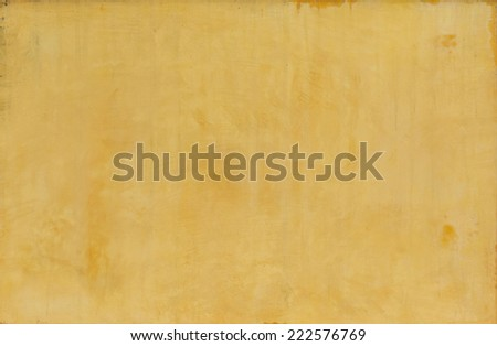 old walls yellow background. - stock photo