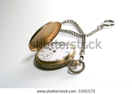 Old watch - stock photo