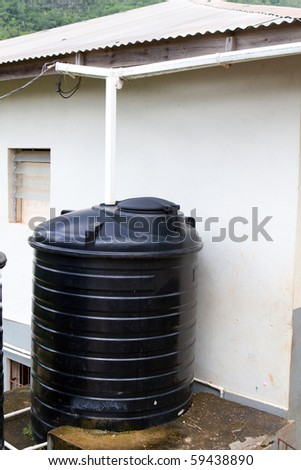Water cistern stock images royalty free images vectors for Cisterna water