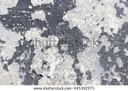 Old weathered cement wall for your background - stock photo
