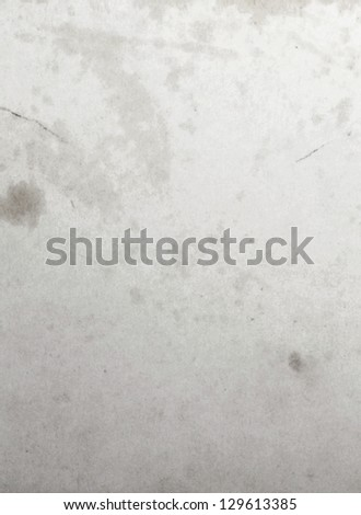 Old weathered oiled paper wall - stock photo