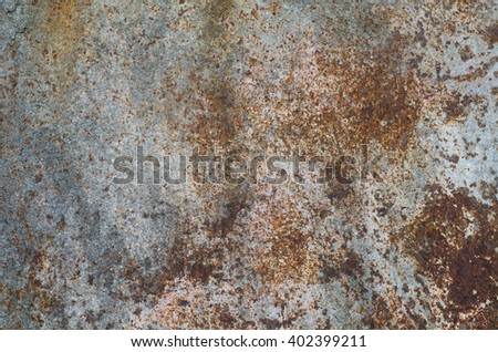 old weathered rusted metal background texture - stock photo