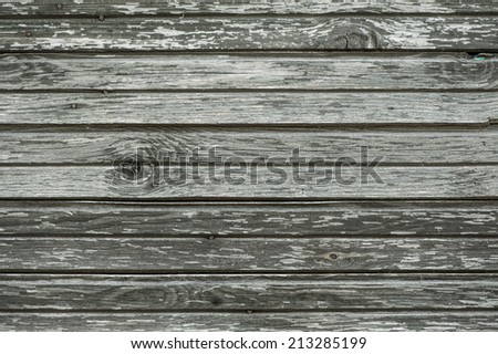 Old weathered wood texture background - stock photo