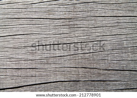 Old weathered wooden surface horizontal - stock photo