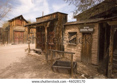 Old West - stock photo