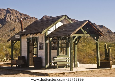 Old West  Railroad Station