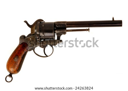 old western style arm in operation - stock photo