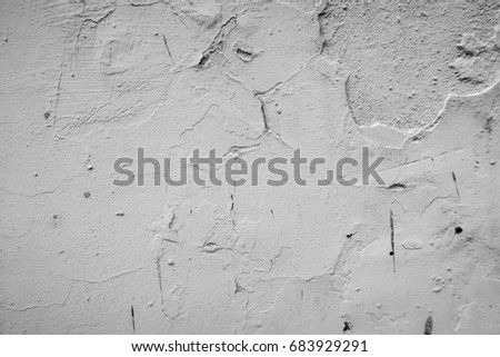 Old white grunge wall