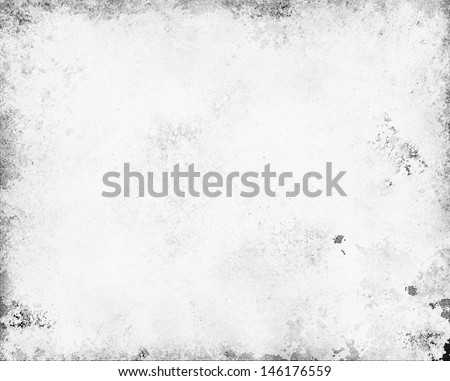 old white paper. gray monochrome background color. abstract stained white background. vintage grunge background texture design. white website color. old black and white background monochrome color - stock photo