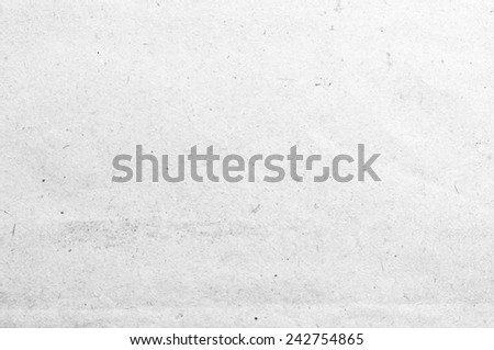 Old white paper texture. - stock photo