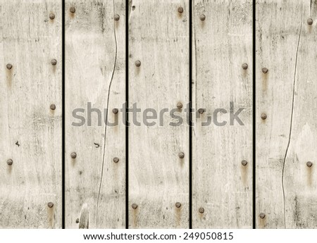 old white wood background texture wallpaper - stock photo