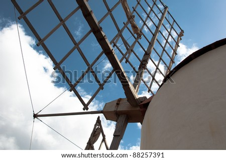 Old Windmill Detail
