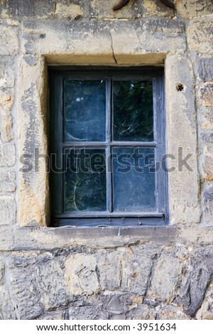 Old window of a castle