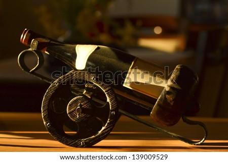 Old wine - stock photo