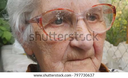 up Free close old granny
