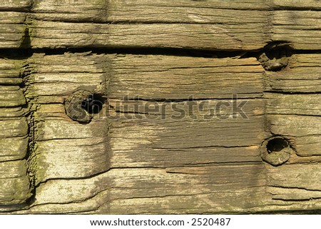 Old wood. - stock photo