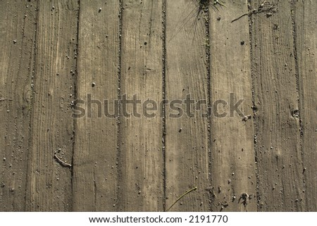 Old wood boards. - stock photo