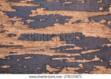 old wood colour background - stock photo