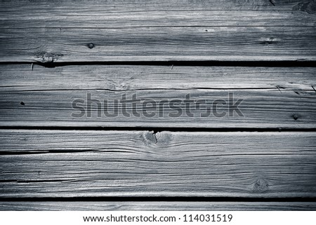 Old wood cracked texture background - stock photo