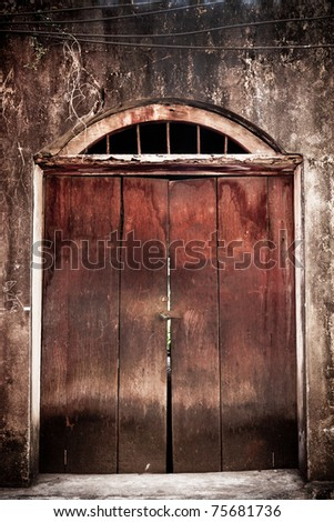 Old Wood door