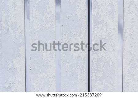 Old wood fence for background - stock photo