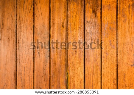 Old wood panels pattern, use for background