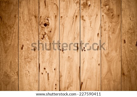old wood plank background - stock photo