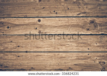 old wood plank wall - stock photo