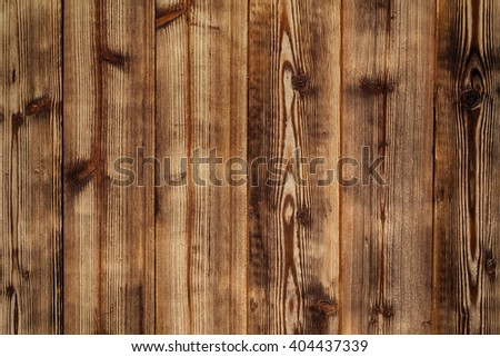 Old wood plank wall background - stock photo