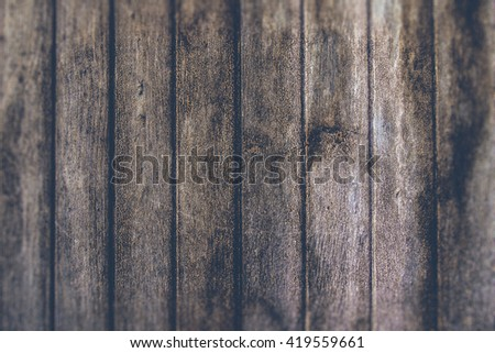 Old wood texture background (filter effect used) - stock photo