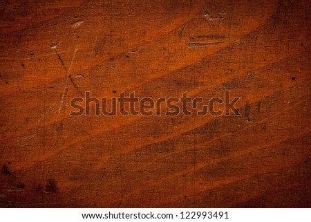 Old wood texture for background. Top view - stock photo