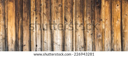 Old Wood Texture for Background Use - stock photo