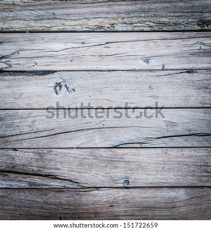 Old wood texture (Process old style) - stock photo