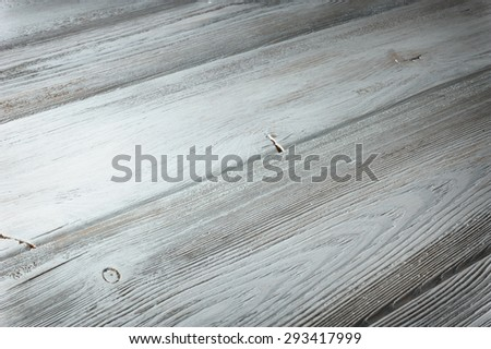 Old wood texture with knot - stock photo