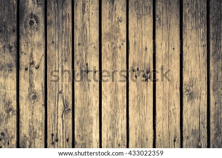Old wood texture with natural patterns use for background