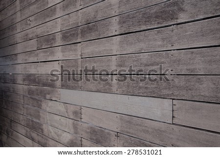 old wood wall.
