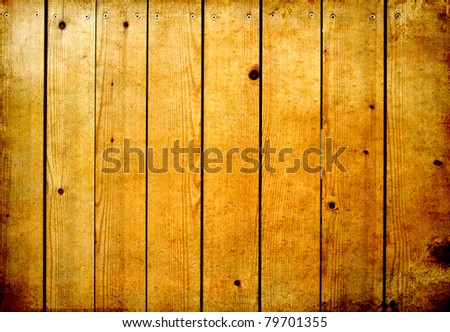 Old wood wall texture for background - stock photo