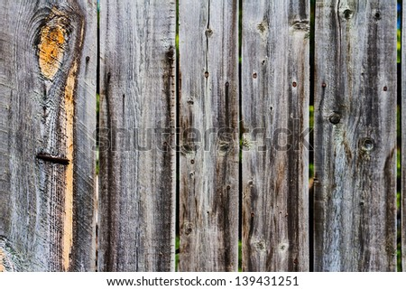 old wooden background - stock photo