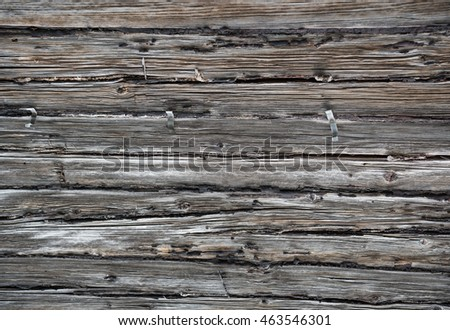 Old wooden background. Close up old boards background