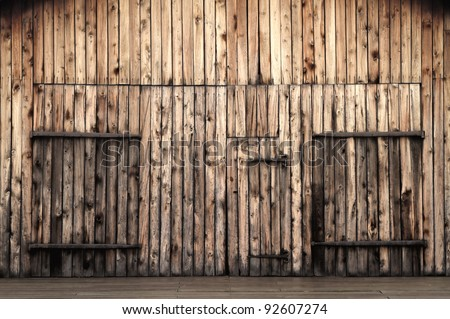 Old Wooden Barn Doors Stock Photo 100 Legal Protection 92607274