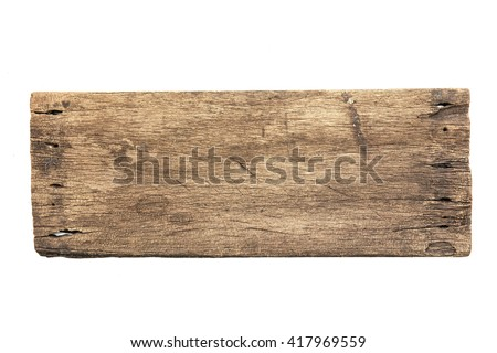 old wooden board background. plank wood isolated for design art work or add text. - stock photo