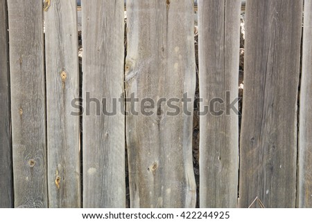 old wooden board . old wooden fence . wooden signboard . Vintage wood . Natural wooden board . gray wood texture . - stock photo