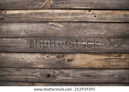 old wooden boards as background - stock photo