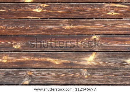 Old wooden boards vintage background texture - stock photo