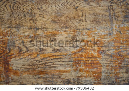old wooden brown background - stock photo