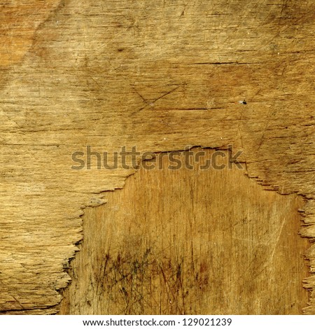 old wooden brown textured background - stock photo
