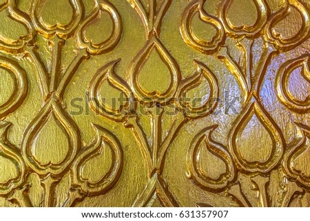 old wooden carving patterns buddhist churches stock photo royalty